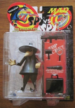 spy vs spy black VARIANT rare figure mad dc direct nib rare toy open to offers