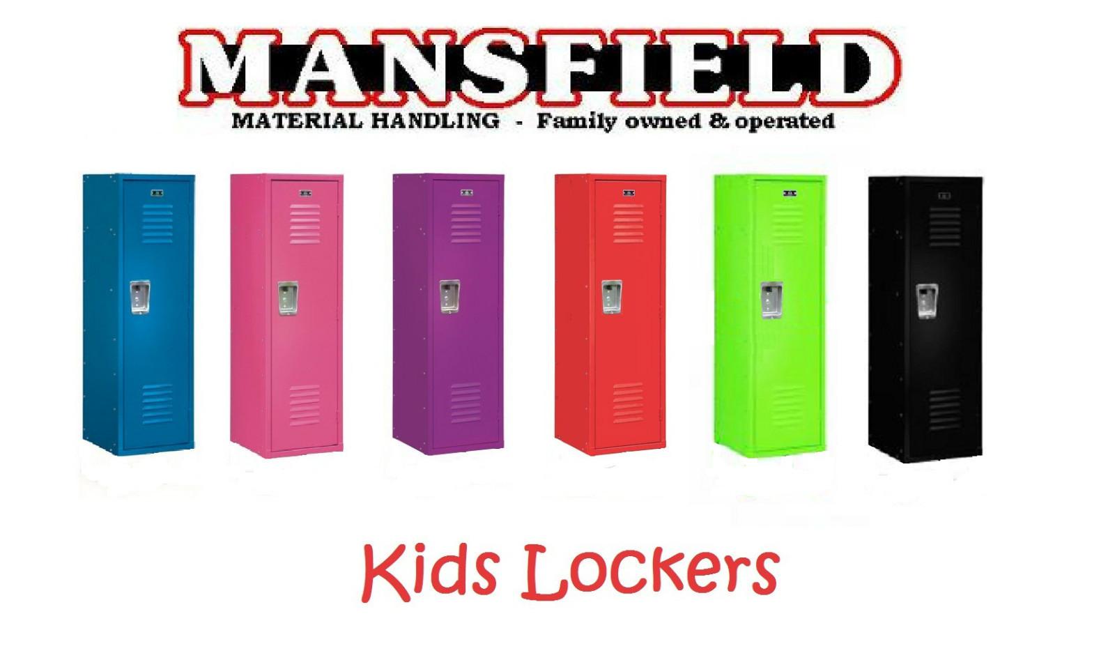 1 new kids locker storage furniture gym sports clothes for Kids locker room furniture