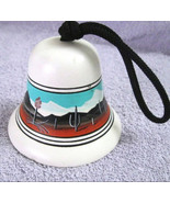 Vintage Pottery Wind Bell Chime, Southwest Dese... - $8.95