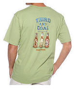 Tommy Bahama Men's Tee, Third and Goal, Lt. Mel... - $34.00