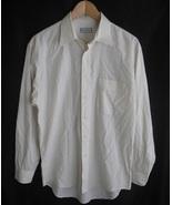 YVES SAINT LAURENT Mens Dress Shirt Size 15 1/2... - $9.99