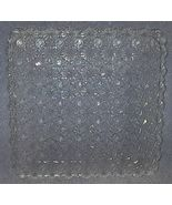 Eapg Daisy and Button L.G. Clear Square Serving... - $11.95