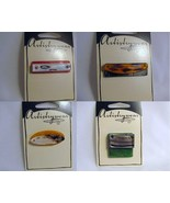 Destash - Four Glass Foil Pendants - $7.00