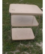 Vintage Metal Cosco Kitchen Utility Cart Tray Table - $59.99