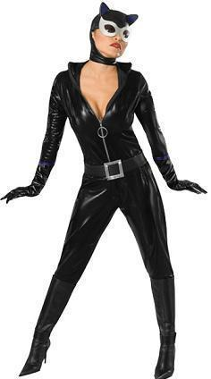 CATWOMAN SEXY COSTUME ADULT XSMALL FITS DRESS SZ 2-6