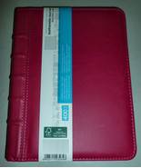 PINK PADDED LARGE LEATHERETTE GRAPH PAPER SOY B... - $24.99