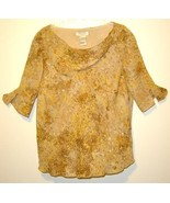 WOMEN LADIES SHIRT TOP DRESS U II SHARON PLUS 2X XXL - $8.99