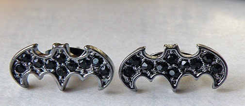Batman Ear Studs