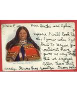 TOUCH-I-GOO INDIAN SQUAW 1902 HH TAMMEN A/S POS... - $9.64