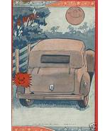 MILITARY AWOL LOVERS PARKING MOON LIGHT 1941 PO... - $6.97