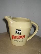 White Horse Scotch Whisky Pitcher Jug - $80.00