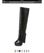 NIB Steve Madden A-Yasmin leather knee high boo... - $75.00
