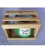 Very Collectible Golf Pro Mug Cup in Wood Crate... - $22.45
