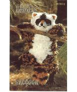 RARE ANNIE'S BABY ANIMALS~RACCOON CROCHET PATTERN - £10.29 GBP
