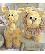 Giraffe~Mouse~Elephant~Bunny~Lion~Animal Croche... - £13.77 GBP