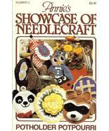 ANNIE'S SHOWCASE OF NEEDLECRAFT #2~CROCHET PATT... - £10.33 GBP