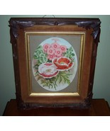 Great Old Victorian Picture Frame with a Flower... - $89.00