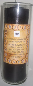 Runic Powers 7 Day Peace & Harmony Candle
