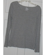 Zoey & Beth Gray Ladies Shirt Large NWOT - $8.99