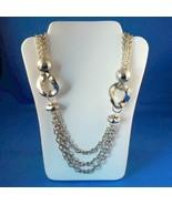 Vintage Chain Link Belt Or Necklace Silver Tone... - $12.99