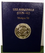 USS Arkansas Westpac 1996 Yearbook - $65.99