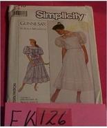 Pattern, Sewing, Simplicity #8610,  Size 6 Gunn... - $5.00