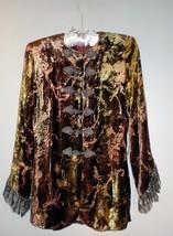 Couture Emanuel Ungaro Velvet/Lace Suit/Jacket. 90s NWT! -