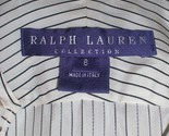 RARE PURPLE LABEL RALPH LAUREN Blouse! Pin Strip - :  blouse pin strip top purple label ralph lauren