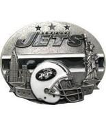 New York Jets Licensed Nfl Helmet Belt Buckle - $20.00