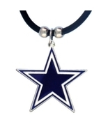 Officially Licensed Dallas Cowboys Rubber Necklace - $11.00