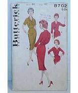 1950's/60's DRESS Pattern 8702-b Size 44   -   ... - $9.99