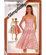 1981 SUNDRESS Pattern 5100-s Size 12 - UNCUT - $13.99