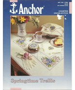 Springtime Trellis Anchor Counted Cross Stitch ... - $3.93