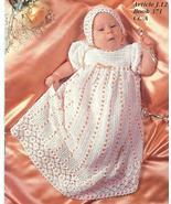 HEIRLOOM BABY CHRISTENING SET CROCHET PATTERNS~... - £17.25 GBP