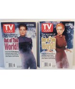 TV Guide Women of Star Trek both covers Dax Sev... - $8.00