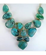 Heavy Cabochons of Southwestern Turquoise Sterl... - $273.29