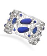 Blue Boulder Opal Cuff Design Bracelet - $999.99