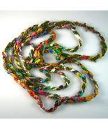 Sari Silk Cord 3000 grams Craft project Yarn Re... - $99.89
