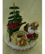 Candle S'Topper, Old Virginia, Ceramic, Christm... - $12.00