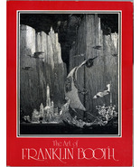 The Art of Franklin Booth ~ 60 B&W Line Drawings - $33.99
