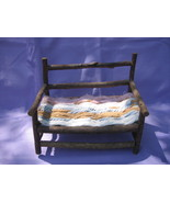 Handmade Rustic Twig Branch Doll Bench Twisted ... - $9.99