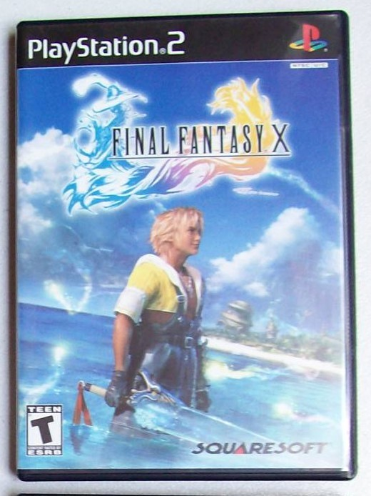 PS2-Final Fantasy X Playstation 2 Game Systems Complete