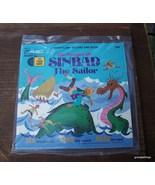 Vintage Voyages Of Sinbad The Sailor 7 inch 33r... - $20.00