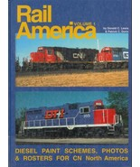 Rail America CN Diesel Paint Schemes Photos Ros... - $19.93