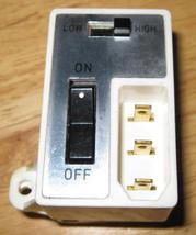 New Home DX-2015 Terminal Block w/On/Off Switch... - $10.00