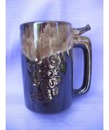 Vintage Whistle For Your Beer Mug Brown Dripware - $7.99