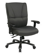 Gray Fabric Executive Big & Tall Swivel Office ... - $379.99