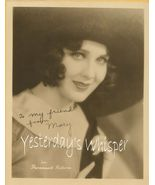 Mary Brian Signed PHOTO Paramount-LASKY ENVELOPE - $14.99
