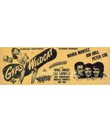 Maria Montez Jon Hall Gypsy Wildcat 1944 Movie ... - $14.99