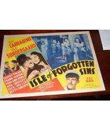 Carradine Gale Sondergaard Isle Forgotten Sins ... - $24.99
